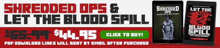 Shredded Ops & Let The Blood Spill bundle